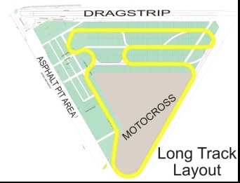 Grand Bend track Map - modified